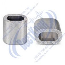 Втулка алюминиевая  7мм DIN3093