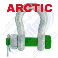 Скоба ARCTIC омегобразная г/п 9,5 тонн, болт-гайка (тип G2130)