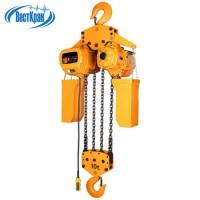 Таль электрическая цепная СТАЦИОНАРНАЯ ТЭЦс-10,0-3,0 (г/п 10,0 тонн, Вп 3м)