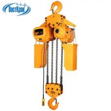 Таль электрическая цепная стационарная ТЭЦс-10,0-12,0 (г/п 10,0 тонн, Вп 12м)