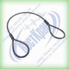 Строп канатный петлевой СКП-1,6. Г/п: 1,6т., dк-12мм