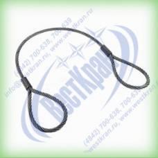 Строп канатный петлевой СКП-10,0. Г/п: 10,0т., dк-31мм