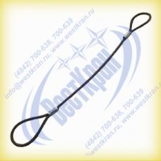 Строп канатный петлевой СКП-2,0. Г/п: 2,0т., dк-13мм