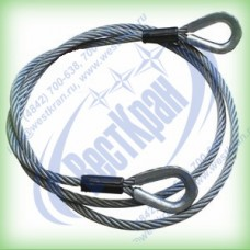 Ветвь канатная ВК-1,0. Г/п: 1,0т., dк-11мм