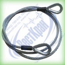 Ветвь канатная ВК-1,0 г/п 1,0 тонна (канат 11мм)