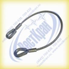 Ветвь канатная ВК-10,0 г/п 10,0 тонн (канат 33мм)