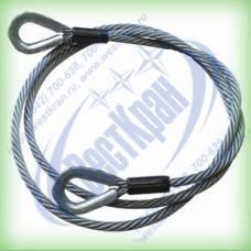 Ветвь канатная ВК-8,0 г/п 8,0 тонн (канат 31мм)