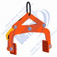 Захват для блоков и бордюров TOR-0.8-0-200 г/п 0,8 тонны