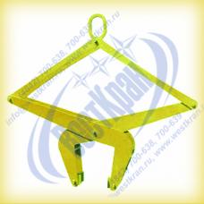 Захват для бордюра автоматический ЗКБ(А)-0,6-50-300 г/п 0,6 тонны