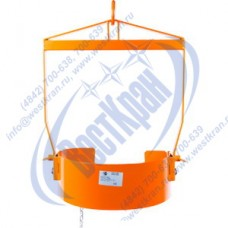 Захват для бочек вертикальный TOR LM-800 стяжной г/п 360кг