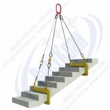 Комплект для лестничных маршей КГП 04-1,6-820 с ЗЛМ-1,0-820-200