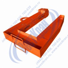 Захват с противовесом ЗРС1-15/1600 для рулонов стали г/п 15 тонн