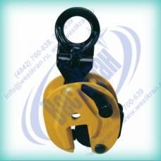 Захват для листа вертикальный CD 1 г/п 1 тонна, зев 0-15мм (универсальный)