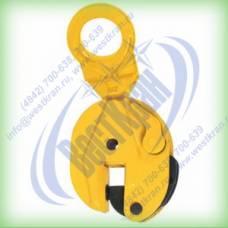 Захват для листа вертикальный CD 2 г/п 2 тонны, зев 0-25мм (универсальный)