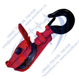 Блок монтажный с крюком и откидной щекой ZK1 (HQGK1) фото