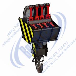 Подвеска крюковая крановая ПКК-4-20-406 фото
