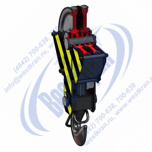 Подвеска крюковая крановая ПКК-2-5-500 фото