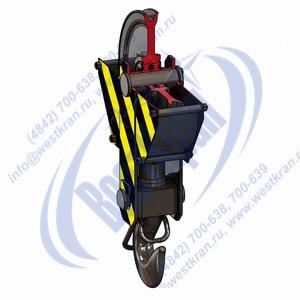 Подвеска крюковая крановая ПКК-1-3,2-500 фото