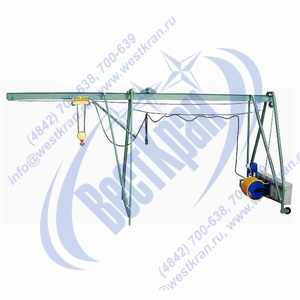 Подъемник строительный Умелец-320-75,0 фото
